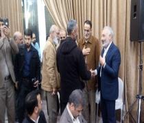 سخنرانی در جمع هیأت مدافعان حرم  - حسینیه هنر